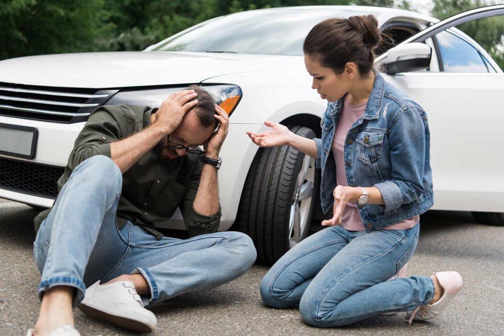 תאונת דרכים הולך רגל
